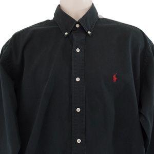 Ralph Lauren Button Down Long Sleeve Solid
